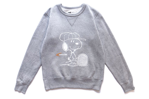 Snoopy x Gallery 1950 Loopwheel Sweat Crew