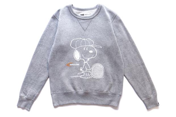 Snoopy x Gallery 1950 Loopwheel Sweat Crew