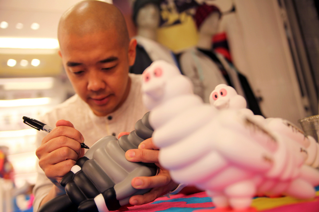Staple Design x Kidrobot Staple Tire Pigeon Launching Party Recap