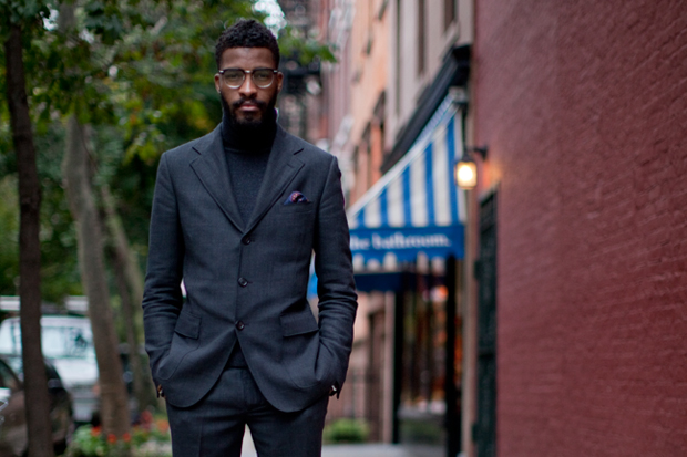 Streetsnaps: Suit Up