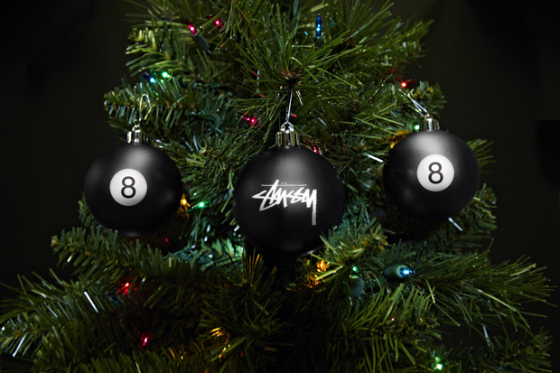 Stussy Christmas Ornament