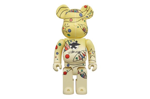 Stussy x Medicom Toy World Wide Tour 2 Bearbrick 100% & 400%