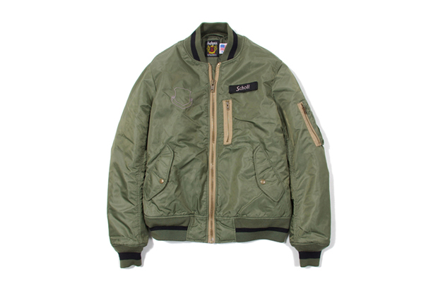 Stussy x Schott 2011 Winter Outerwear Collection