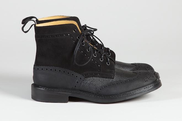 superdenim x trickers 2011 fallwinter capsule collection