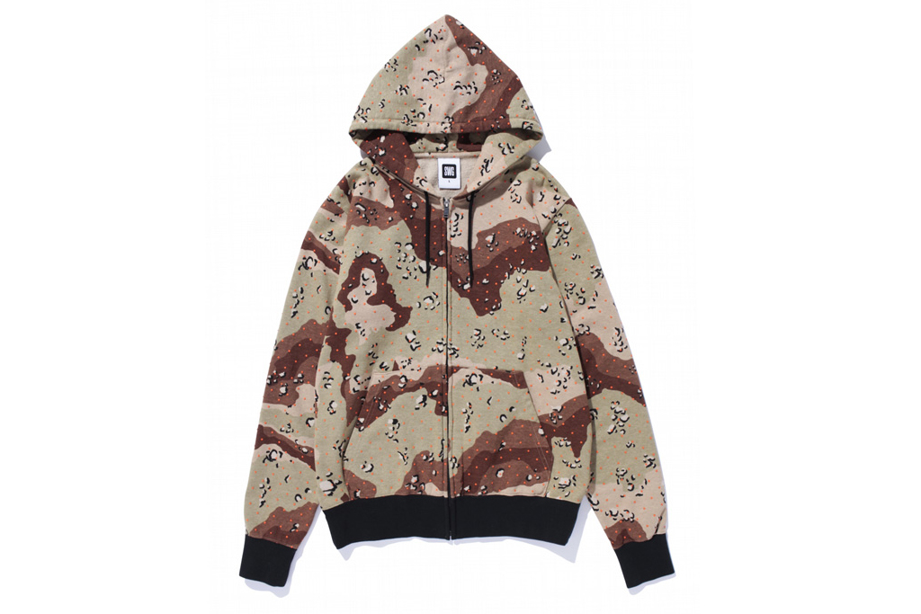 swagger dot camo hoodie