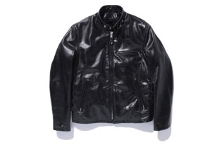 SWAGGER x Schott 641 LEATHER SINGLE RIDERS