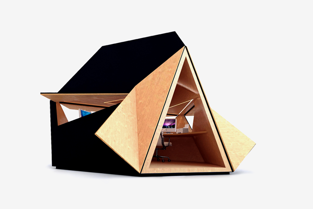 tetra shed Modular Garden Office