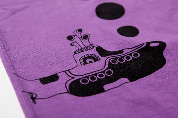 the beatles x comme des garcons 2011 fallwinter t shirts