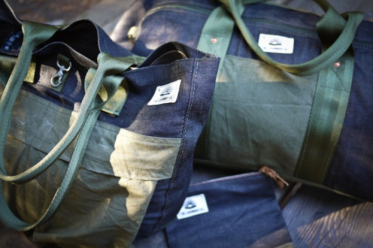 The Lovewright Co. x Jyumoku Reclaimed Bag Collection