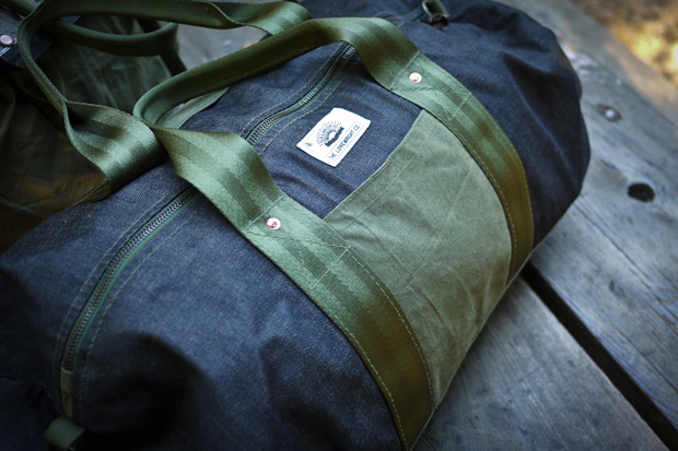 the lovewright co x jyumoku reclaimed bag collection