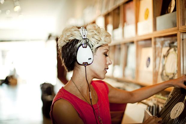 The Ting Tings x Skullcandy Roc Nation Aviator Headphones