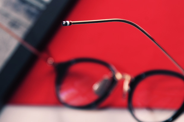 thom browne x dita 2011 fallwinter eyewear