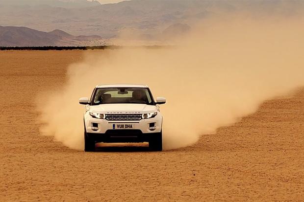 Top Gear Test Drives the Range Rover Evoque