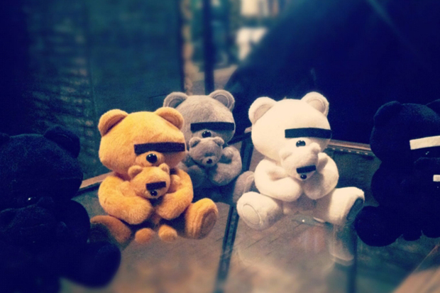 UNDERCOVER Rebel Bear Plush Toy Hong Kong Store Exclusive Preview
