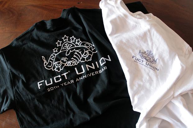 Union x FUCT 20th Anniversary T-Shirt