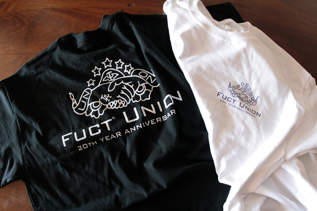 Union x FUCT 20th Anniversary T-Shirt