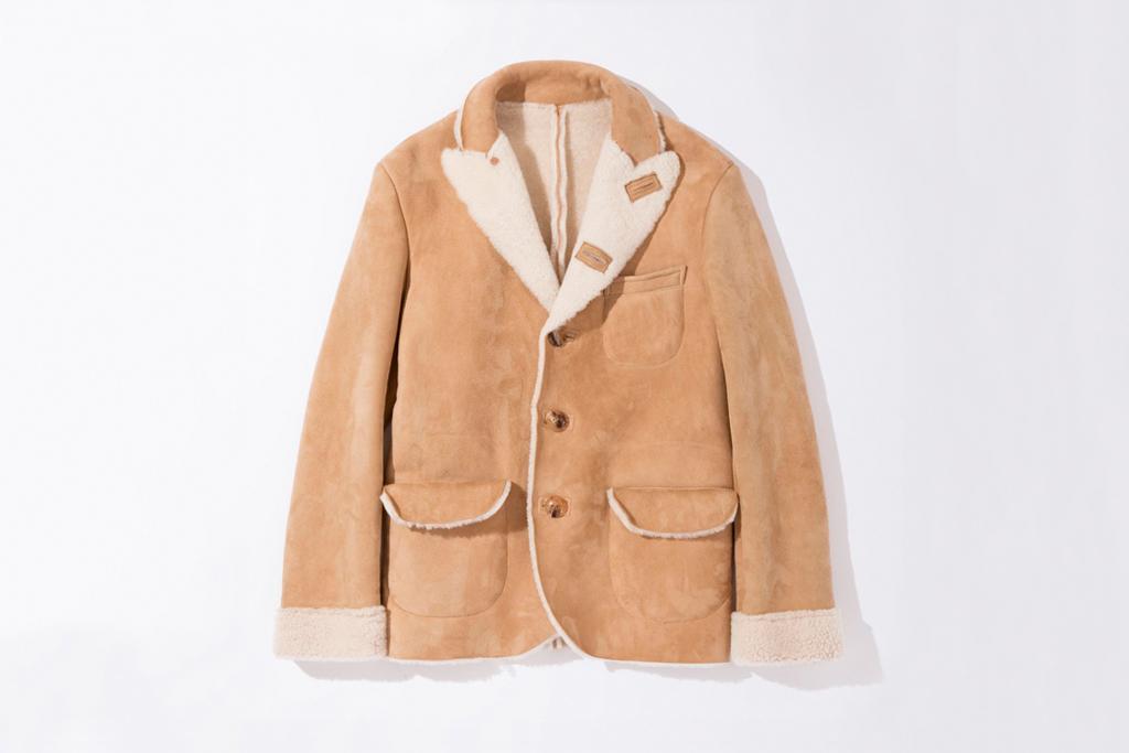 UNUSED Sheepskin Jacket