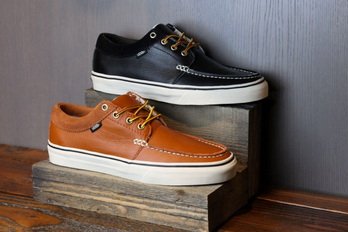 Vans Classics 2011 Holiday Leather 106 Moc