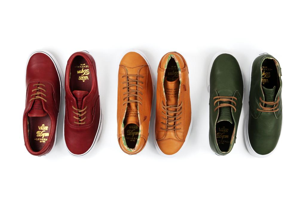 vans dqm 2011 first footwear pack