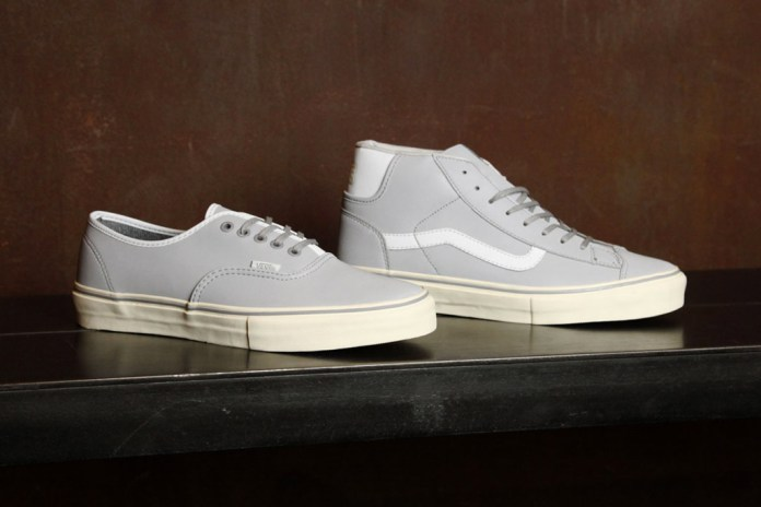 Vans Vault Authentic & Mid Skool '77 Frost Grey Pack
