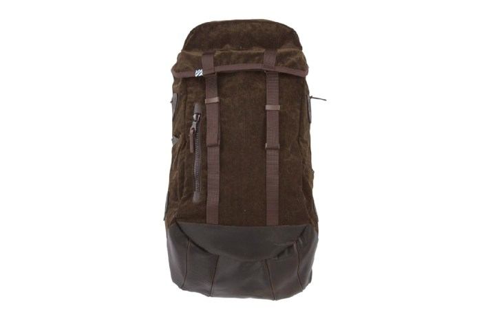 visvim LAMINA CORDUROY 25L Backpack