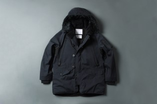 White Mountaineering GORE-TEX Herringbone N-3B Boa Jacket