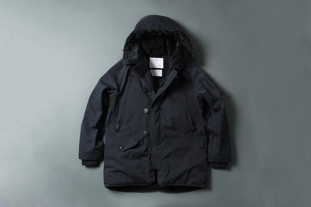 White Mountaineering GORE-TEX Herringbone N-3B Boa Jacket