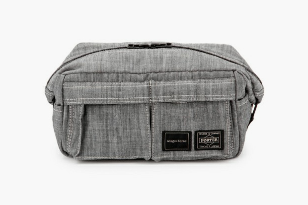 wings horns x porter pouch