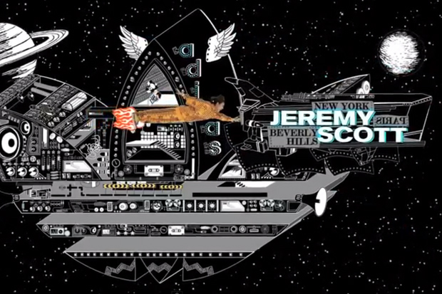 2NE1 x Jeremy Scott x adidas Originals JS Wings Video