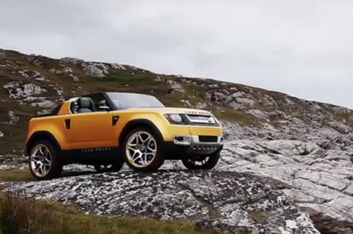 TRANSLOGIC: Land Rover DC100 Concepts