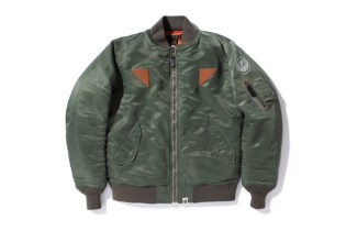 A Bathing Ape FLIGHT JACKET