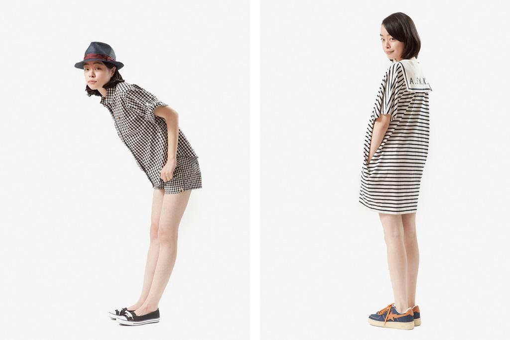 A Bathing Ape Ladies 2012 Spring/Summer Lookbook