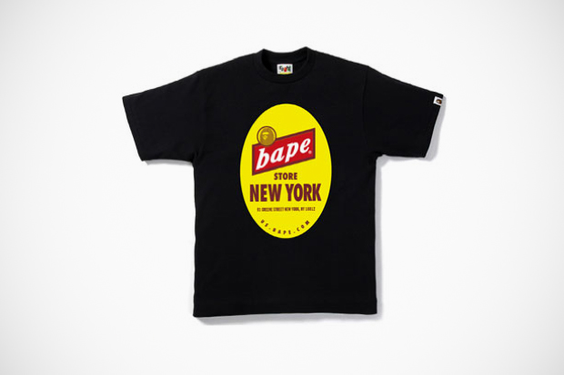 A Bathing Ape New York Store 7th Anniversary T-Shirt