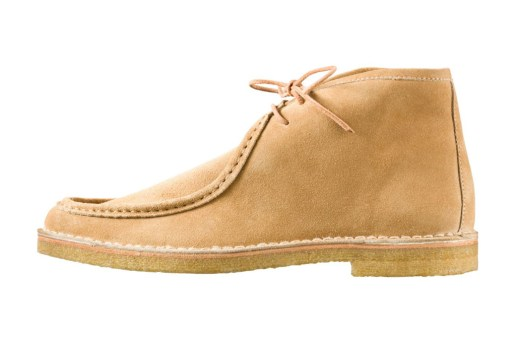 A.P.C. 2012 Spring Ankle-High Moccasins