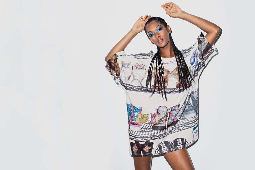 adidas originals by jeremy scott 2012 springsummer collection lookbook