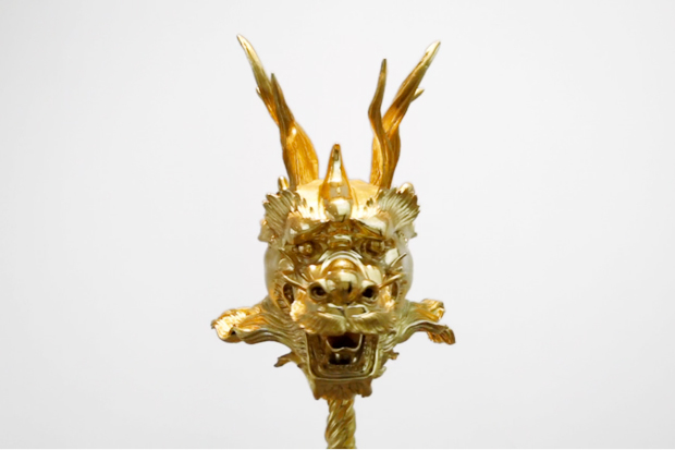 "Ai Weiwei ""12 Gold Zodiac Heads"" Exhibition @ Paul Kasmin Gallery"