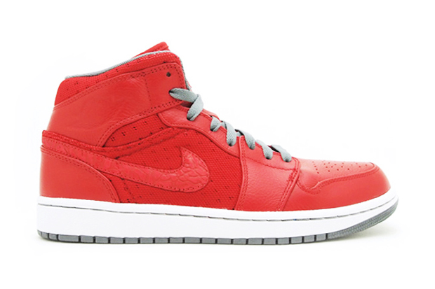 Air Jordan 1 Phat Varsity Red/Cool Grey