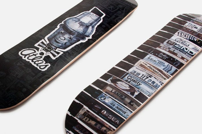Allister Lee x Atlas Skate Decks