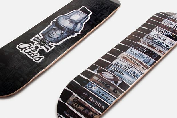Allister Lee x Atlas Skate Decks