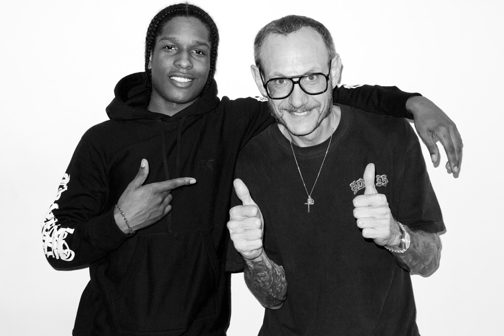 A$AP Rocky shot by Terry Richardson