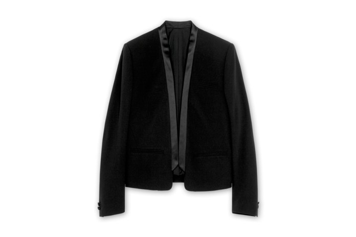 Balmain Satin Collar Jacket