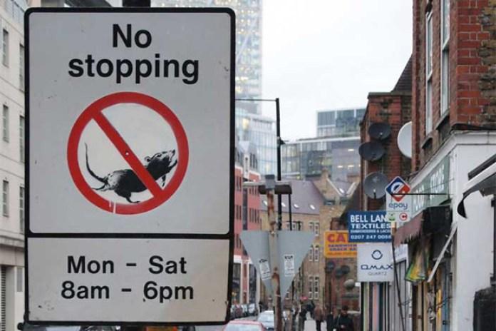 Banksy 'No Stopping Rats'