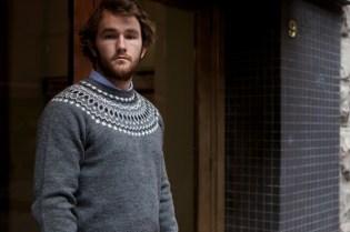 BEDWIN & THE HEARTBREAKERS Eno Nordic C-Neck Knit
