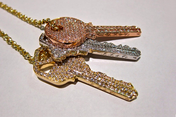 ben baller for pusha t keys chain