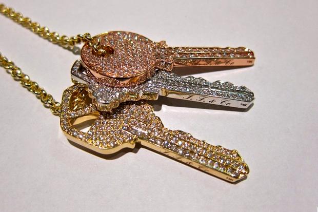 """Ben Baller for Pusha T """"Keys"""" Chain"""
