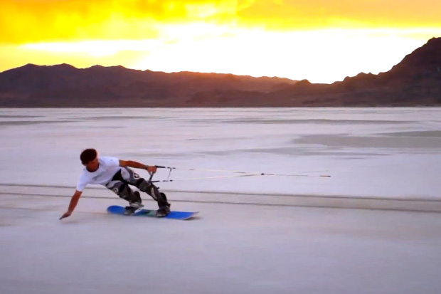 Blank Snowboards: Salt Boarding