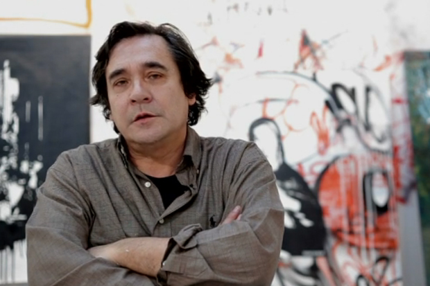 """Blek le Rat """"60/30"""" Exhibition @ 941Geary Gallery Video Interview"""