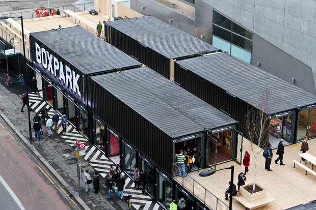 Boxpark Shoreditch Opening