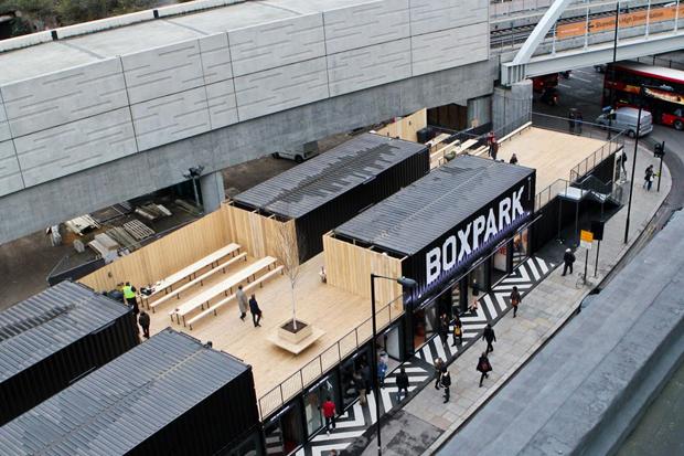 Boxpark Shoreditch Opening