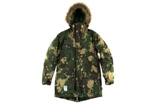 C-Law x Addict Camo Parka